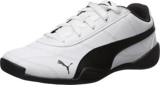 Puma Tune Cat 3 Kids Sneaker (Big Kid White Black 5.5 M US Big Kid
