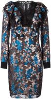 Lanvin embroidered floral lace dress