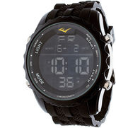 Everlast Black Rubber Digital Watch