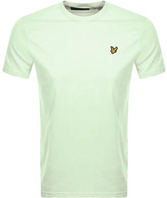 Lyle & Scott Crew Neck T Shirt Green