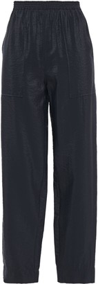 Nina Ricci Crinkled-shell Tapered Pants