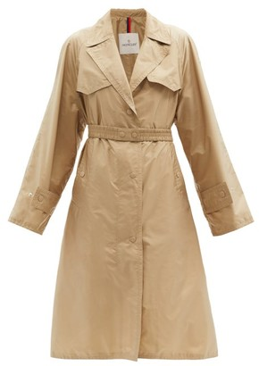 Moncler Rutilicus Belted Shell Trench Coat - Tan