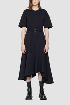 3.1 Phillip Lim T-Shirt Dress with Asymmetrical Skirt