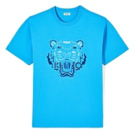 Kenzo Embroidered Tonal Tiger Graphic Tee