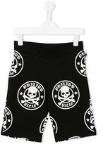 Philipp Plein Jackson track shorts - kids - Cotton - 4 yrs