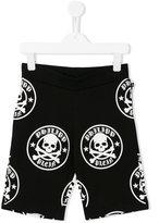 Philipp Plein Jackson track shorts - kids - Cotton - 6 yrs