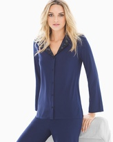 Soma Intimates Mysterious Long Sleeve Pajama Top