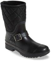 Sperry Walker Gray Nylon Quilt Boot (Women)
