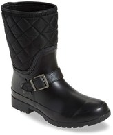Sperry Women's Walker Gray Nylon Quilt Boot
