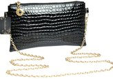 Donalworld Women Alligator Pattern Chain Strap Purse Shoulder Bag