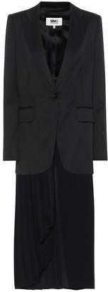 MM6 MAISON MARGIELA Wool-blend jacket