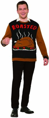 Forum Men's Thanksgiving Sweater Roasted Turkey