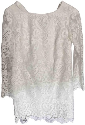 French Connection White Lace Dress for Women