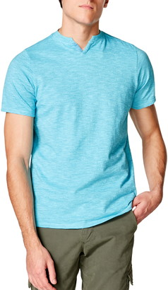 Good Man Brand Stripe V-Notch T-Shirt