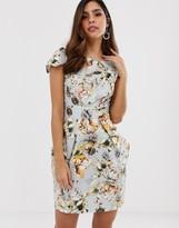 Closet London Closet floral pencil dress