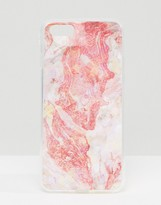 Signature Abstract Marble Pink iPhone 7
