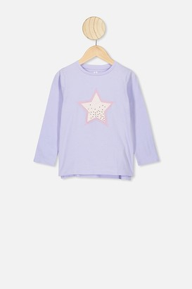 Cotton On Stevie Long Sleeve Embellished Tee