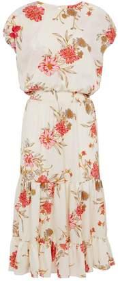 MISA Los Angeles Paulina Floral Midi Dress