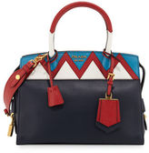 Prada Esplanade Medium Greca City Satchel Bag