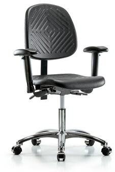 Symple Stuff Everly Task Chair Casters/Glides: Casters, Tilt Function: Included