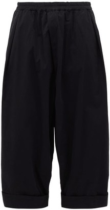 Toogood - The Baker Cropped Cotton Trousers - Mens - Black