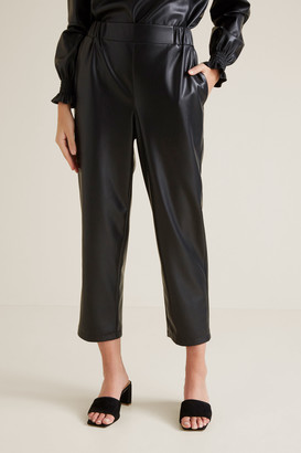 Seed Heritage High Waist PU Pants