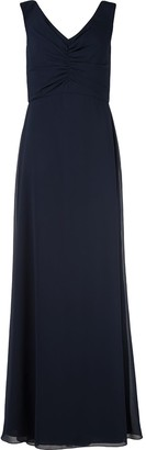 Amsale V-Neck Evening Gown