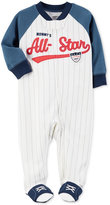 Carter's 1-Pc. Mommy's All-Star Footed Coverall, Baby Boys (0-24 months)