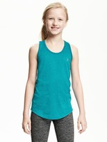 Old Navy Go-Dry Racerback Performance Tank for Girls