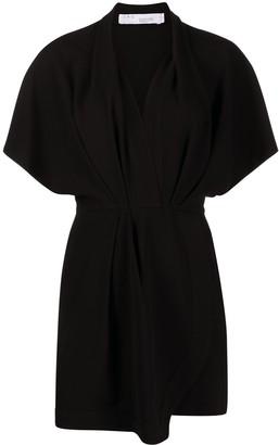 IRO Raelina wrap-style dress