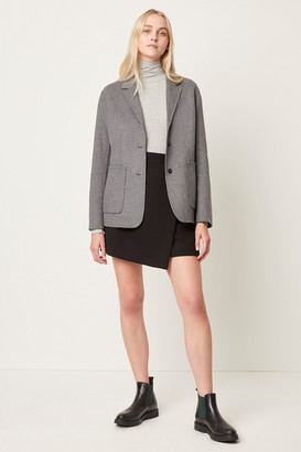 French Connenction Daralicia Wool Single Breasted Jacket