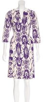 Tory Burch Knit Patterned Dress