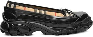 Burberry overshoe Vintage Check ballerina shoes