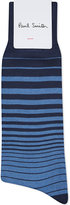 Paul Smith Fader Stripes Cotton-blend Socks