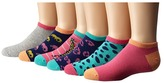 Stride Rite 12-Pack Avery Animals No Show with Seamless Toe Girls Shoes