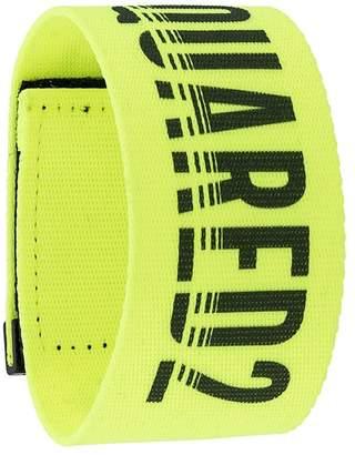 DSQUARED2 logo strap bracelet