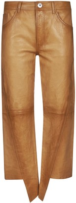 Lanvin Straight-leg Cropped Jeans