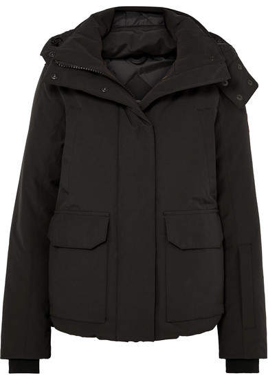 Canada Goose Blakely Hooded Quilted Shell Down Jacket - Black
