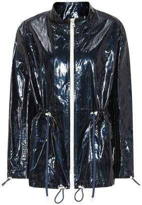 Isabel Marant Enzo coated cotton and linen jacket
