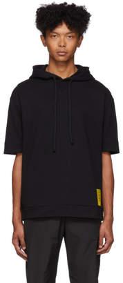 HUGO Black Danoi Short Sleeve Hoodie