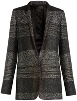 Haider Ackermann Bussey single-breasted tweed blazer