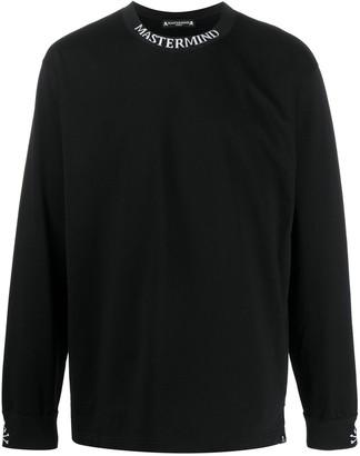 Mastermind World Long Sleeve Logo Collar Top
