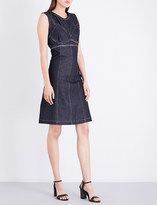 Area Bailey sleeveless denim dress