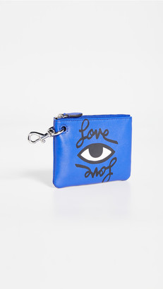 Rebecca Minkoff Love Eye Clip Pouch