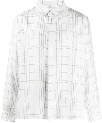 Casablanca Geometric Long-Sleeved Shirt