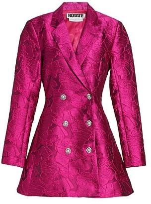 Rotate by Birger Christensen Newton Brocade Blazer Dress