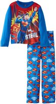 AME Sleepwear DC Comics Superman Man Of Steel Pajama for boys