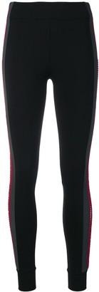 NO KA 'OI Embellished Side Stripe Leggings