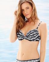 Soma Intimates Madeira Twist Bikini Swim Top