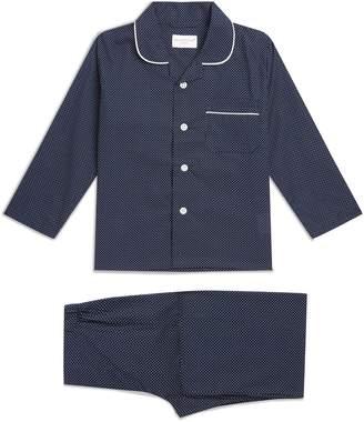 Derek Rose Polka Dot Pyjama Set